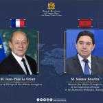 Maroc-France: M. Bourita s'entretient avec son homologue français