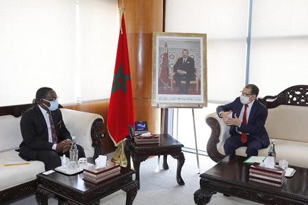 Le Chef du gouvernement marocain reçoit le Président du CESEC de Côte d'Ivoire