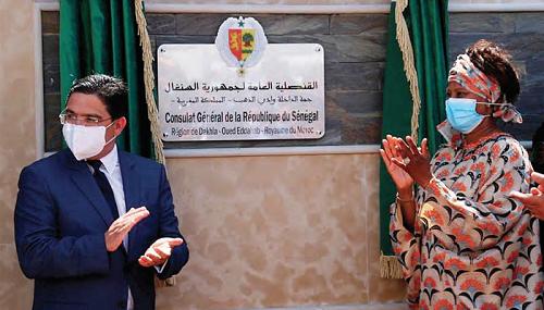 Le Consulat du Sénégal à Dakhla symbolise l'ouverture du Maroc à la région ouest-africaine
