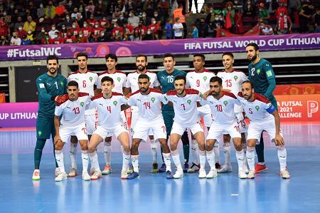 Mondial de futsal: le Maroc éliminé en quart de finale sans démériter