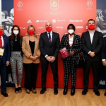 Le président de la Fédération espagnole de football reçoit la présidente de la Ligue marocaine de Football féminin